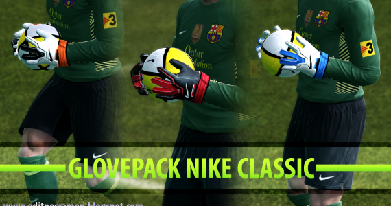 1 - PES 2012 Nike Classic Gloves