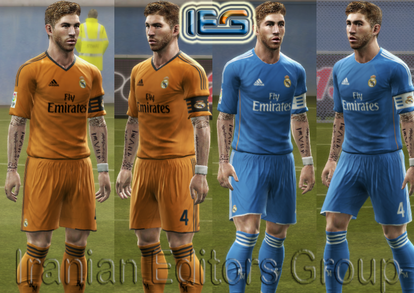 PES 2013 Real Madrid 2013-14 Away Kits By SRT