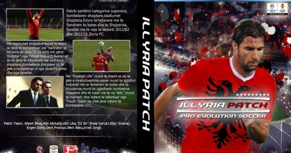 PES 2012 Illyria Patch 2012 Final Patch v1.00 by PES Albania