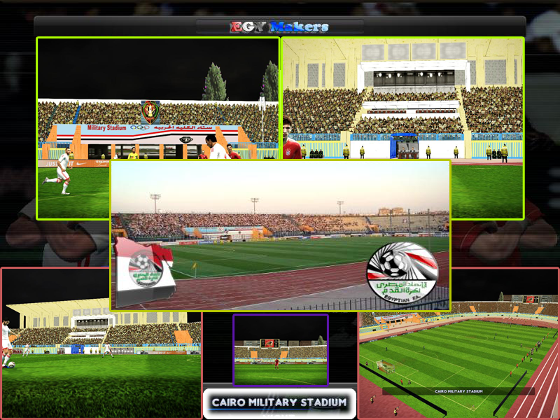 Egyptian League CAN 2010 Patch by foxman512 - PES Patch