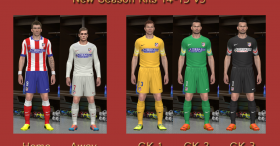 Atletico de Madrid 14-15 Kits v3