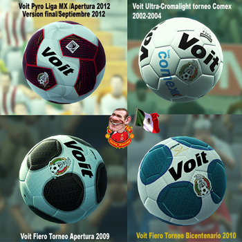 PES 2013 Full HD Historia Voit Liga Mexicana Ballpack Part 1 by SKILLS