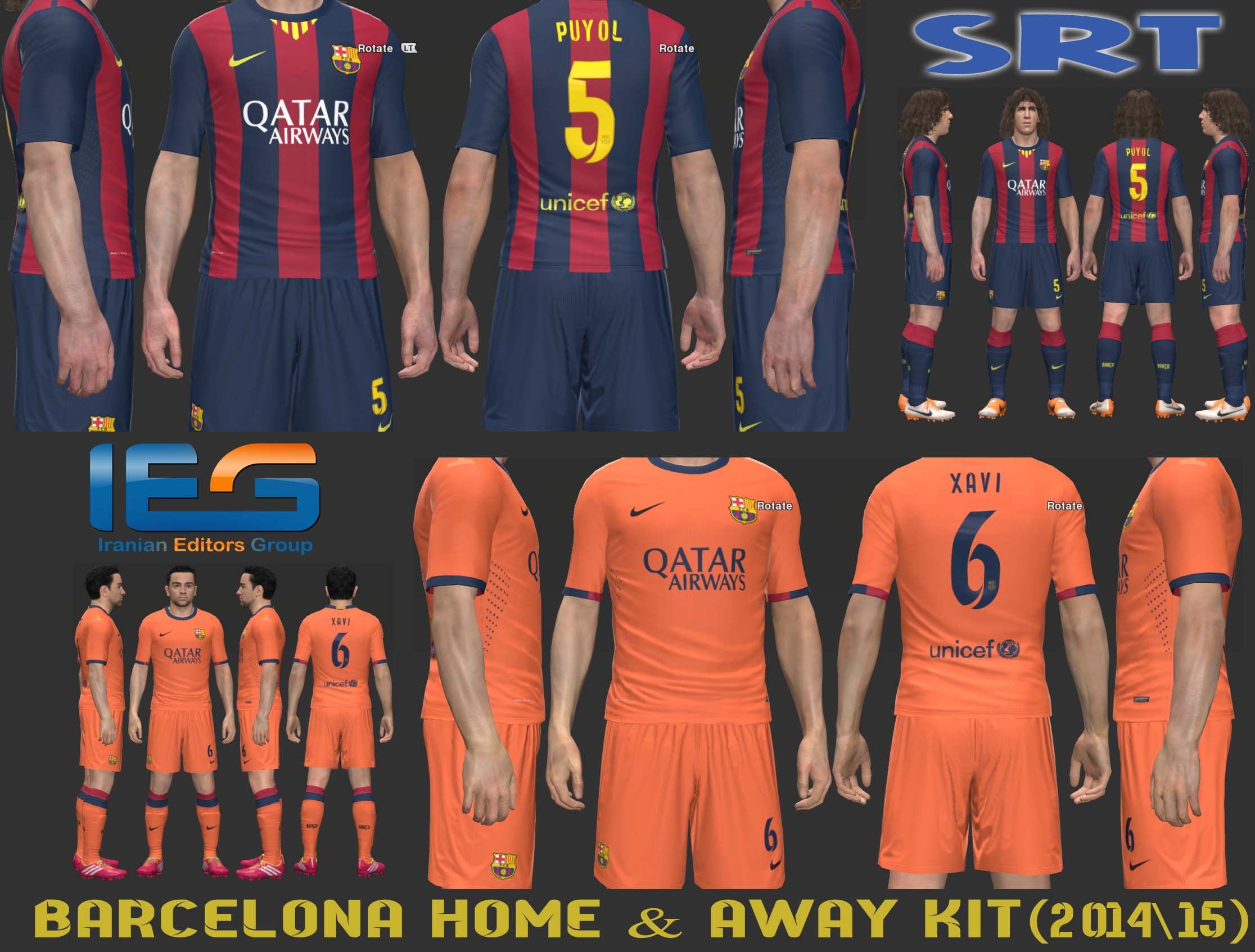 0a3ca1746f9 http   www.pespatchs.com wp-content uploads Barcelona-2014-15-Home-Away-Kits -By-SRT.jpg