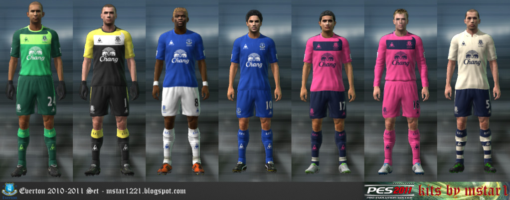 PES 2011 Everton 10 11 Kitset By Mstar1 Download Links