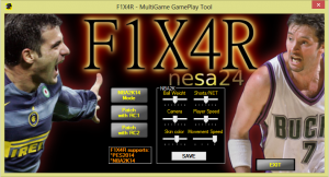 F1X4R Multigame Gameplay Tool
