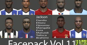 Facepack Vol.11 2014-2015 By miguelrioave