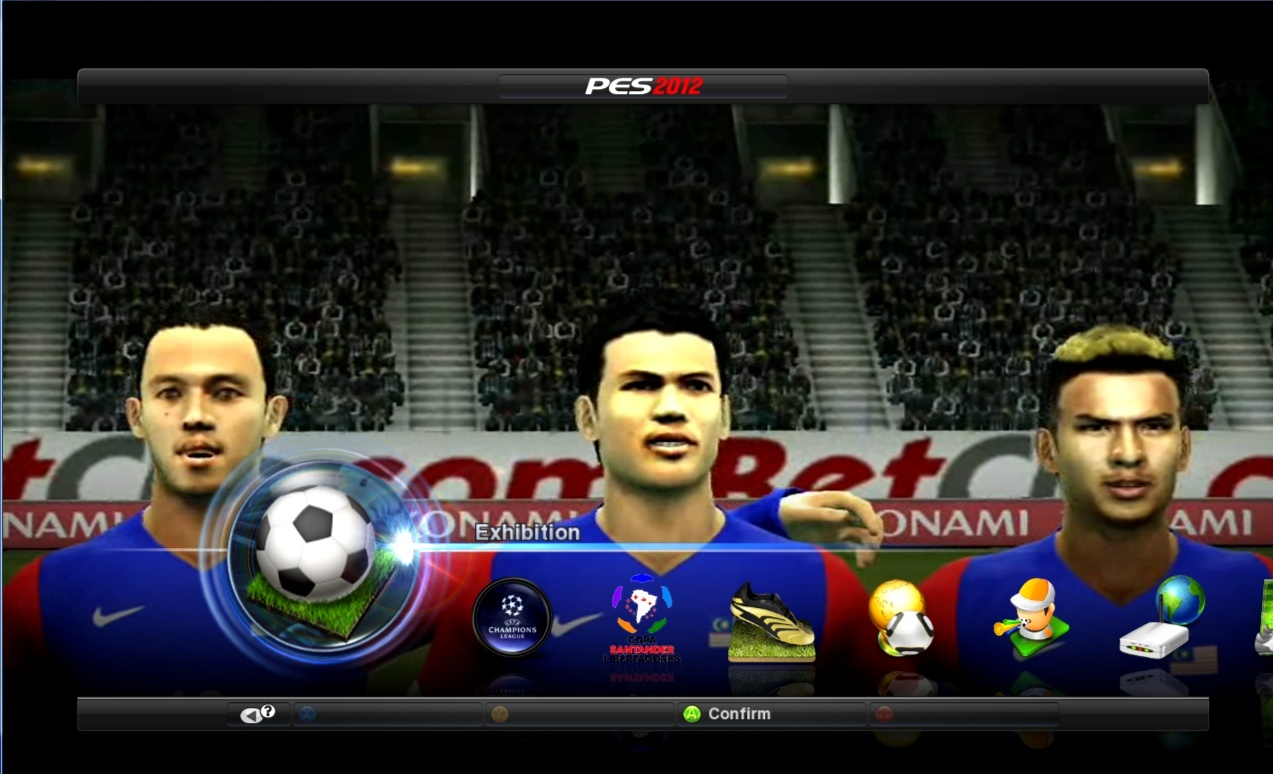 PES 2012 PES1 Malaysia Patch V2 0 Released