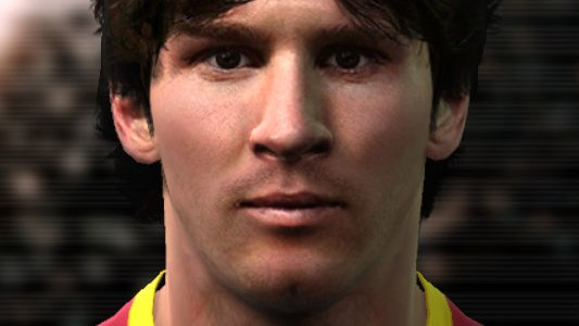 PES 2011 Messi Face by Teiker17