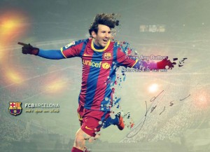 Messi St.  Screen by NARIMANI