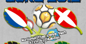 National Flag EURO 2012 Style - 1