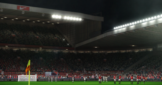 Old Trafford stadium for pes 2012 demo