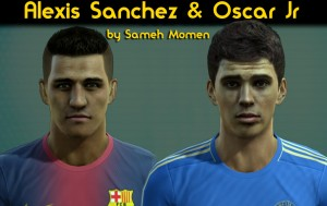 Oscar & Alexis HD faces by Sameh Momen