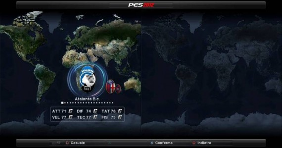 PES 2012 2ND Demo Seria A Patch Preview