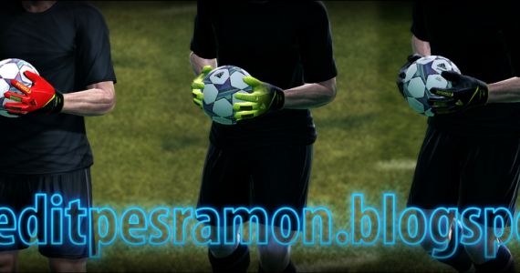 PES 2012 Adidas Fingersave Gloves