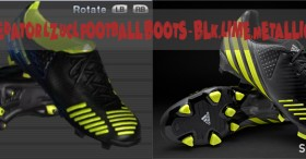 PES 2012 Adidas Predator LZ UCL Boots - Blk.Lime.Metallic