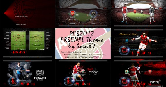 PES 2012 Arsenal Theme