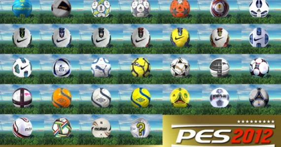 PES 2012 Ballpack V3 - 38 Standard + 5 Extra Content Balls