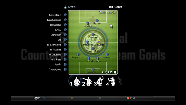 PES 2012 Inter Milan Gameplan Pitch Installation