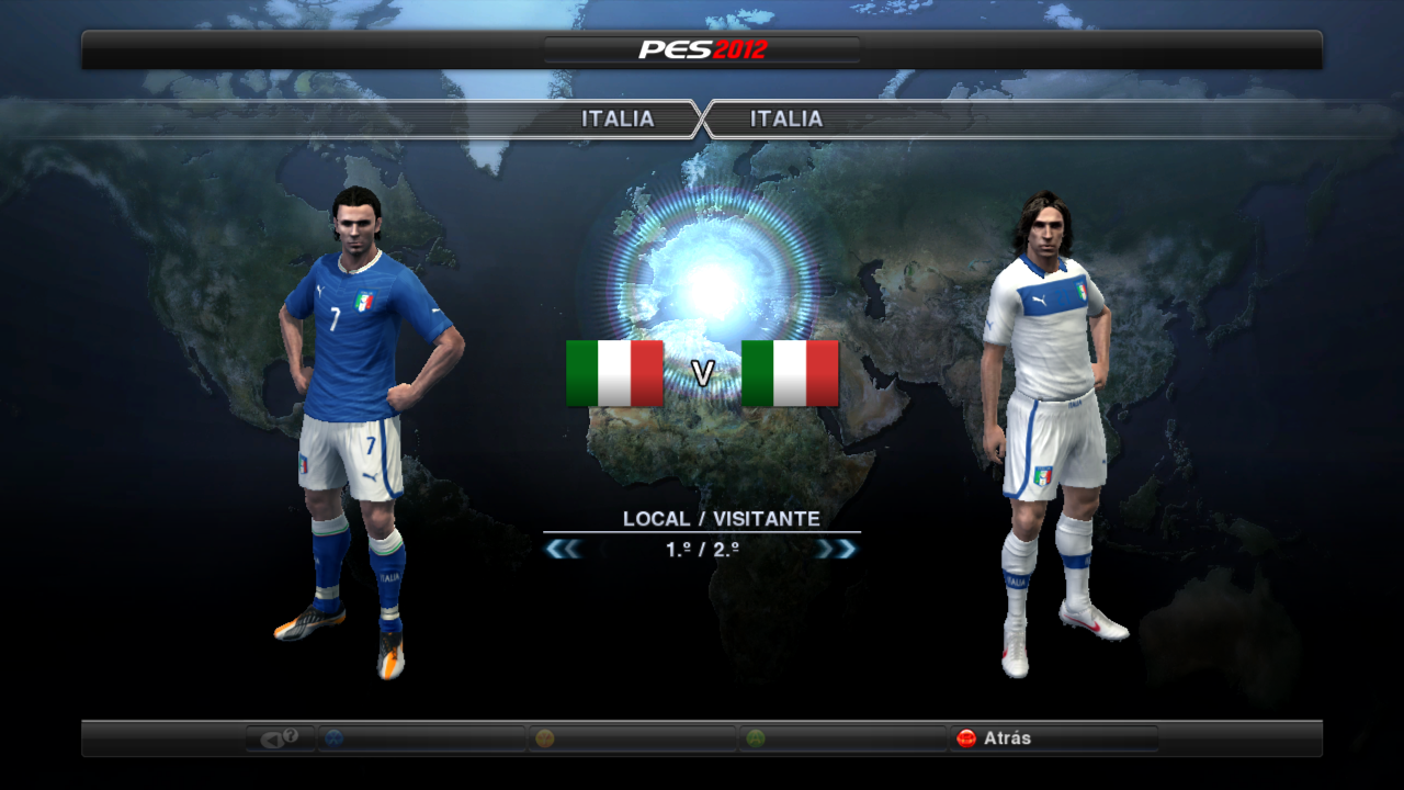 PES 2012 Italy 2012     2015 Kits By Fauda19
