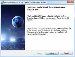 PES 2012 Konami Official Patch 1.2