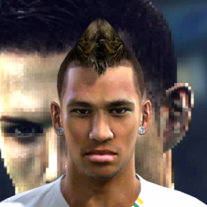 PES 2012 Neymar Face by Nathan