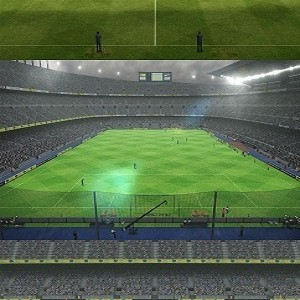 PES 2012 Nou Camp Turf