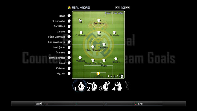 PES 2012 Real Madrid Gameplan Pitch Download Links: