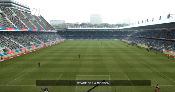 PES 2012 Stade de la Mosson V2