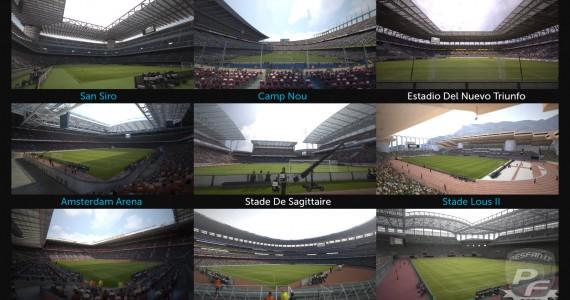 PES 2012 Stadiums
