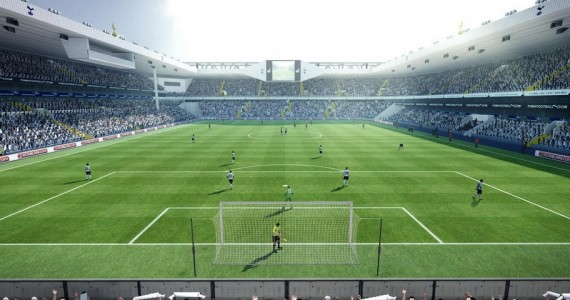 PES 2012 White Hart Lane Stadium - 1