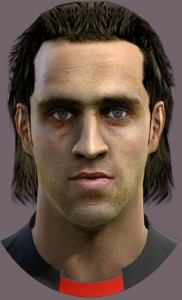 PES 2013 Ali Karimi Face and Hair