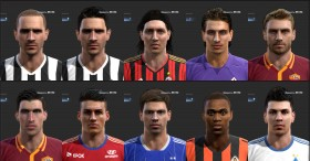 PES 2013 Big & Last Facepack