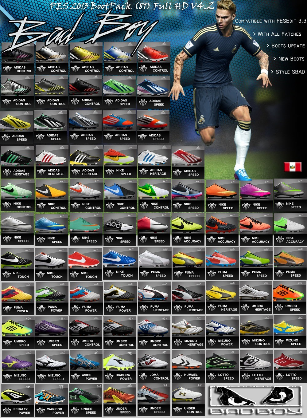 PES 2013 BootPack (81) Full HD V4.2 by SBadBoy + v5