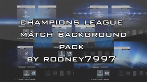 PES 2013 Champions League Match Background Pack
