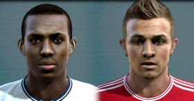 PES 2013 Danny Rose & Xherdan Shaqiri HD Faces