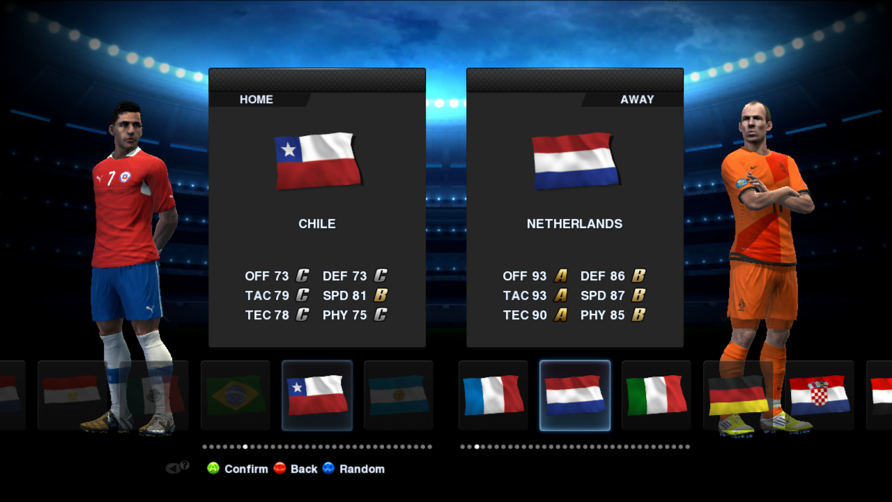 PES 2013 Demo Unlock 64 Teams Patch More Screens: