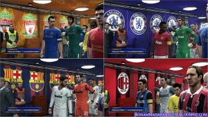 PES 2013 Entrance Tunnels Pack
