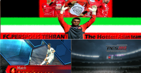 PES 2013 FC.Perspolis Tehran (IRAN) Graphic Patch v2