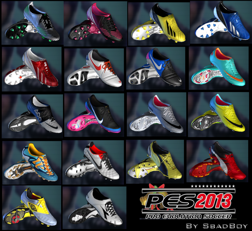 PES 2013 FULL HD 81 Bootpack New features: