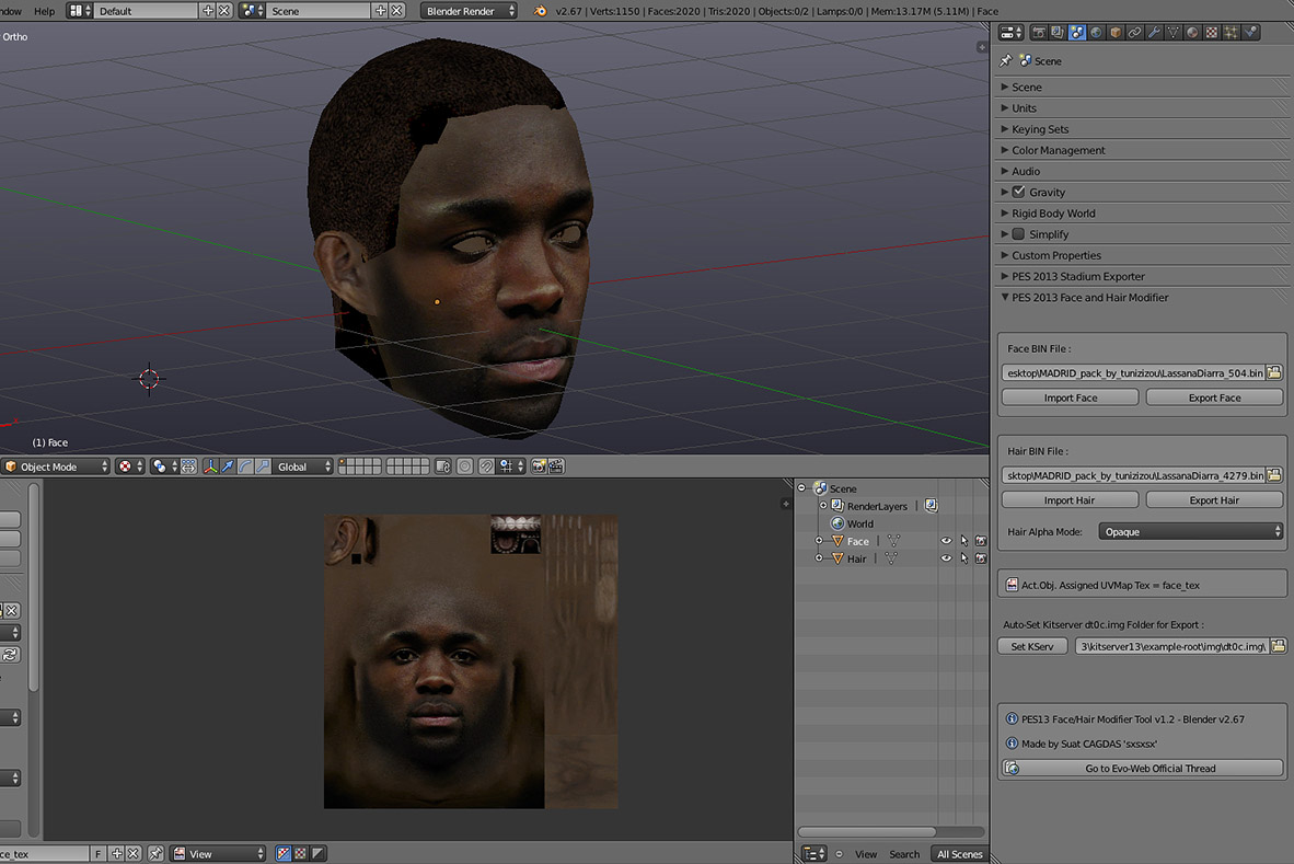 blender how to delete faces in pose mode