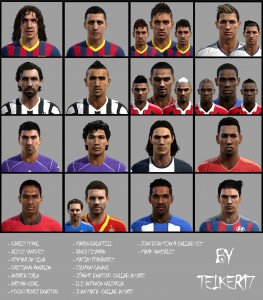 PES 2013 Facepack Internacional Vol 6 Final