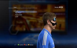PES 2013 Fernando Torres Face with Mask - 2