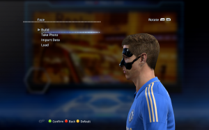 PES 2013 Fernando Torres Face with Mask