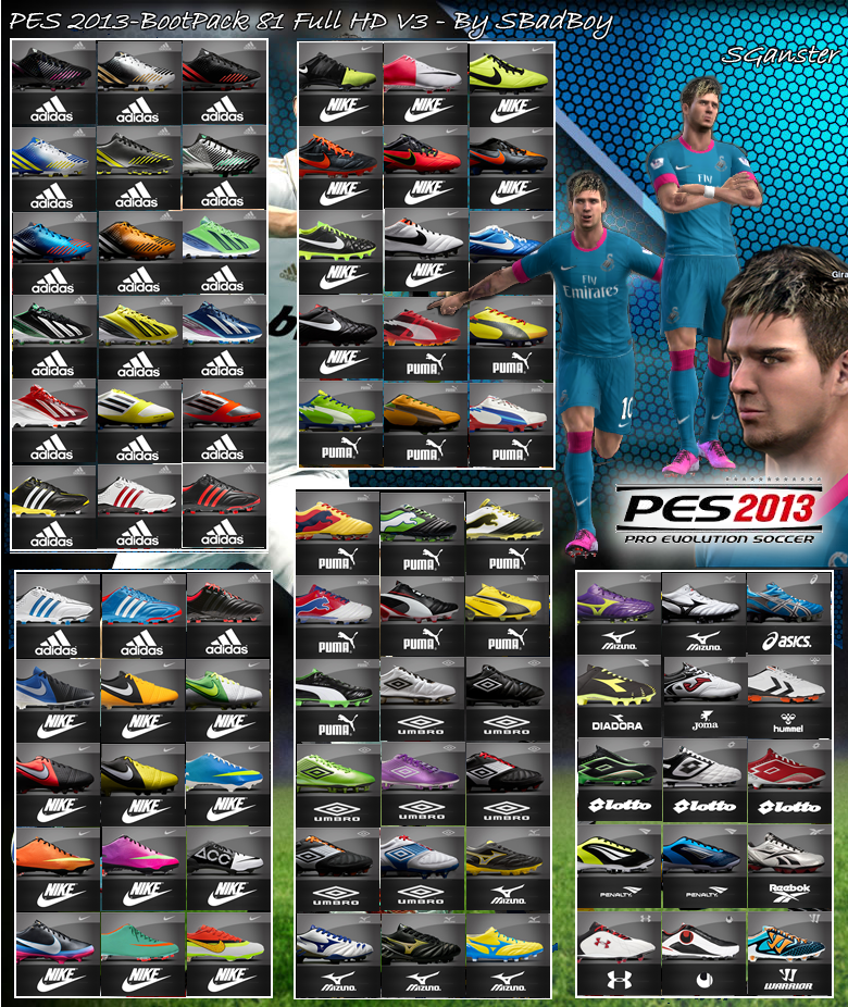 PESFanit FO v3 - PES 2013 - PS3 - YouTube