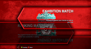 PES 2013 Liverpool Single Background