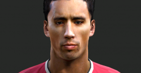 PES 2013 Lucas Barrios FAce by MarioJuve