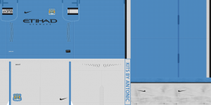 PES 2013 Manchester City 2013-2014 Kits  Home