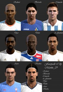 PES 2013 Martin_09's Facepack Vol1