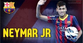 PES 2013 Neymar JR Start Screen