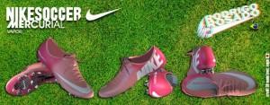 PES 2013 Nike Mercurial Atomic Pink and Atomic Red - 2